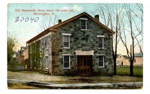VT - Bennington. Old Blacksmith Shop