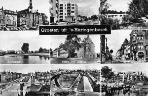 Groeten uit 's-Hertogenbosch, Zuiderpark, Paleis van Justitie, multiview cars
