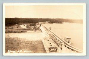 Scenic View Of Bagnell Dam Missouri, RPPC Postcard