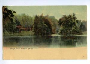 147141 SINGAPORE Botanic Garden Vintage undivided back pc