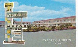 Canada Avondale Motor Inn Calgary Alberta
