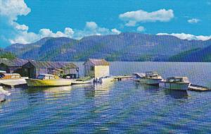 Canada Boat Landing Powell Lake Powell River British Columbia