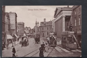 Devon Postcard - George Street, Plymouth     HM636