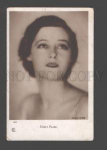 094927 Marie GLORY Famous French MOVIE Star vintage PHOTO PC