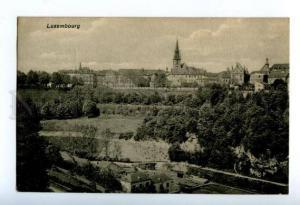 158216 LUXEMBOURG View Vintage RPPC
