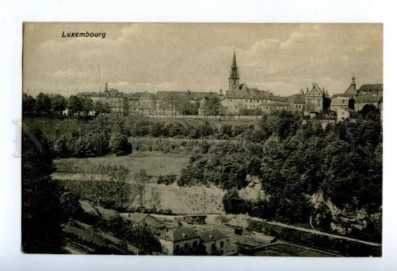 158216 LUXEMBOURG View Vintage RPPC