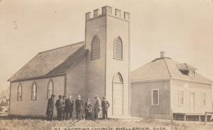RP; SHELLBROOK , Saskatchewan, 1900-10s ; St Andrews Church