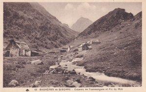 BAGNERES DE BIGORRE, Hautes Pyrenee, France, 1900-1910's; Cabanes De Tramezai...