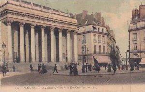 France Nantes Le Theatre Graslin et la Rue Racine