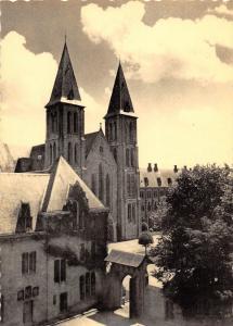 Belgium Abbaye de Maredsous Eglise et vue de l'Ecole Abbatiale