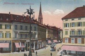 MULHAUSEN , France, 1900-1910's; Neuquartierplatz