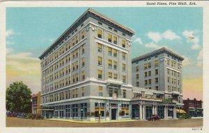 PINE BLUFF , Arkansas, 1930-40s ; Hotel Pines