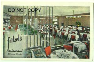 Fritzel's Restaurant, Chicago Ill