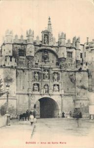 Spain - Burgos Arco de Santa Maria 02.13