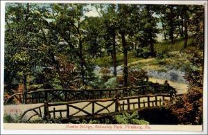 Rustic Bridge, Schenley Park, Pittsburg PA