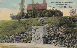 Indian Spring, Schenley Park, PITTSBURGH, Pennsylvania, PU-1914