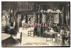 Old Postcard Hostellerie William the Conqueror Dives sur Mer Salles Marmousets