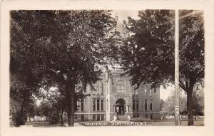 C84/ Slayton Minnesota Mn Real Photo RPPC Postcard 1916 Court House Building