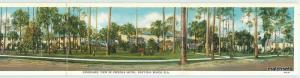 1940 DAYTONA BEACH FLORIDA Osceola Hotel Cottages BI-Fold 2959 Asheville