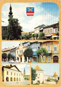 B75645 pohlad na stred mesta s radnicnou vezou Kezmarok  slovakia