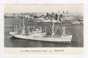 Koninklijke Hollandsche Lloyd - m.s.  EEMLAND , 1953