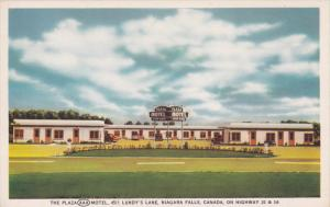 Plaza Motel , nIAGRA FALLS , Ontario , Canada, 40-60s