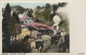 RP: Railway Station w/ Trains , in D.H.Ry. , India , 00-10s