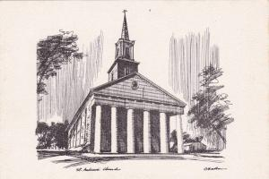 AS, St. Andrew's Presbyterian Church, Niagara On The Lake, Ontario, Canada, 1...