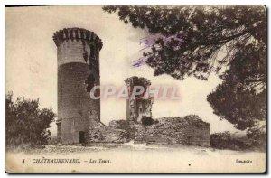 Old Postcard Chateau Chateaurenard