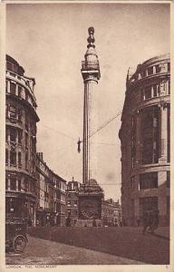 The Monument, London, England, UK, 1910-1920s