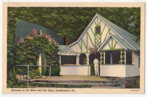 Ice Mine, Gift Shop, Coudersport PA