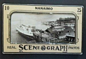 Mint British Columbia Nanaimo Souvenir Photo Collection 10 Real Photo Postcards