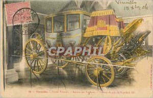Old Postcard Grand Trianon Versailles Discount Cars Car Gala Napoleon III