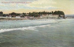 CAPITOLA , California, 1900-10s ; Beach & Hotel