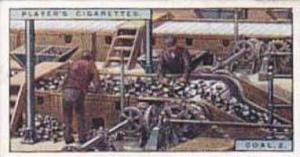 Player Vintage Cigarette Card Products Of The World 1928 No 5 Coal 2 Screenin...