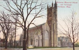 FAIRHAVEN, Massachusetts; Unitarian Memorial Church and Parsonage, 00-10s