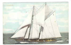 RP: Yachting , Sail boat BLUENOSE , Pride of Nova Scotia Fishing Fleet , Wi...