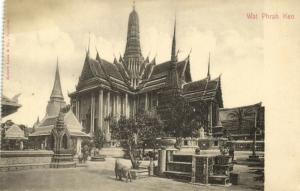 siam thailand, BANGKOK, Wat Phrah Keo (1899) Robert Lenz