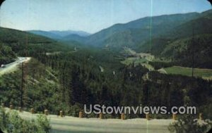 Lookout Pass in Missoula, Montana