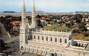 Panama Old Vintage Antique Post Card Church of the Carmelite Fathers Panama C...