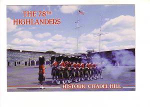 The 78th Highlanders, Historic Citadel Hill, Halifax, Nova Scotia, The Book R...