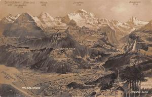 Switzerland Interlaken Harder Kulm Gsteig Alpiglen Breithorn