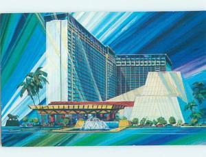 Unused 1980's MGM GRAND CASINO HOTEL OPENING SOON Las Vegas Nevada NV B0638-12