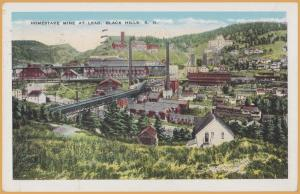 Black Hills, S.D., Homestake Mine at Lead - 1936