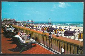 New Jersey, Atlantic City - View From Marlborough-Blenheim Hotel