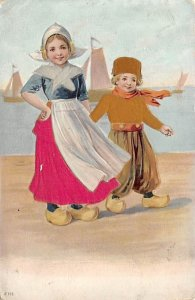 Dutch children Silk Unused