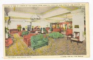 Hotel Rosslyn, Lobby, Los Angeles, CA, 00-10s