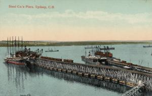SYDNEY , C.B. , Nova Scotia , Canada , 00-10s ; Steel Co.'s Piers