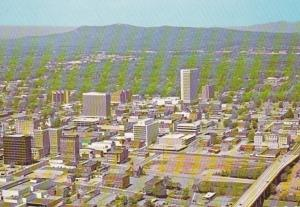 South Carolina Greenville Aerial View