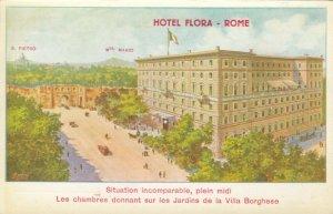 ROME, Italy, 1900-10s; Hotel Flora, S. Pietro & Mte. Mario